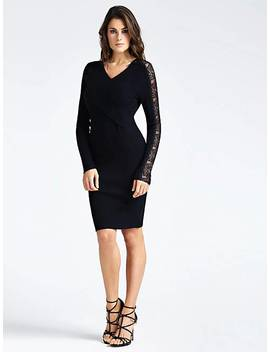 Dress With Lace Detail by Guess