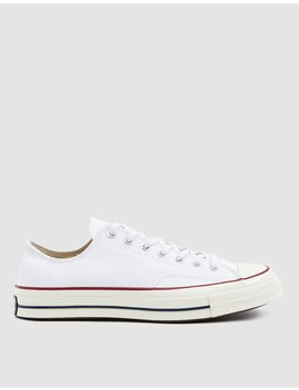 Chuck Taylor '70 Low Sneaker In White by Converse