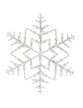 The Holiday Aisle Window Silhouette Christmas Snowflake Lighted Display & Reviews by The Holiday Aisle