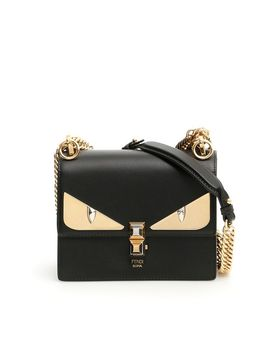 Fendi Small Kan I Bag With Bag Bugs Eyes by Fendi
