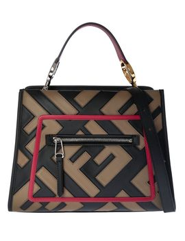 Fendi Double F Small Runaway Tote by Fendi