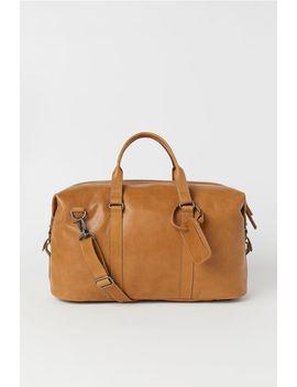 Weekendbag Aus Leder by H&M