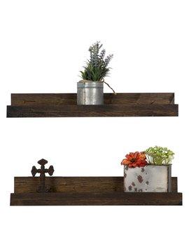 Del Hutson Rustic Luxe Shelf   Set Of 2 by Del Hutson