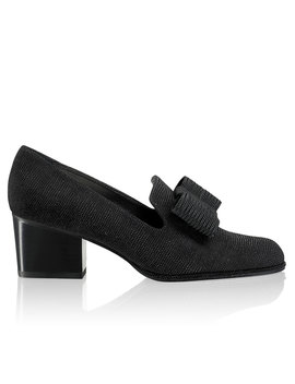 Block Heel Bow Court by Atta Bow