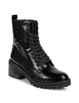 Brazil Lace Up Boots by Topshop