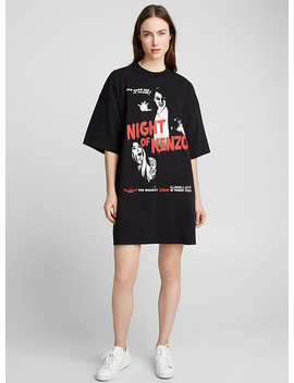 Night Of Kenzo T Shirt Dress by Kenzo