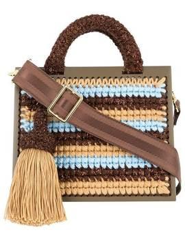 St. Barts Large Woven Handbag by 0711