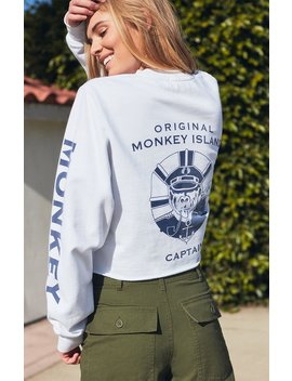 John Galt Malibu Cover Cropped Sweatshirt by Pacsun