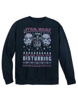 Darth Vader Holiday Sweatshirt For Adults   Star Wars by Disney