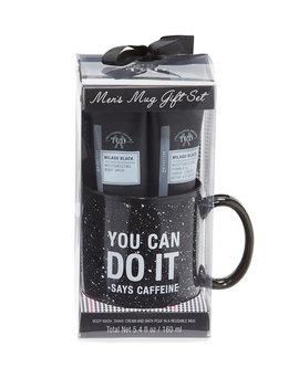 Men's Milagu Black Mug Gift Set by Tri Coastal Design