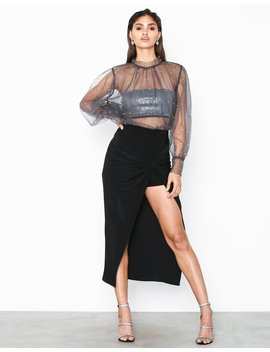 Wrap Over Skirt by Nly Trend