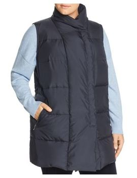 Adora Down Vest by Lafayette 148 New York Plus