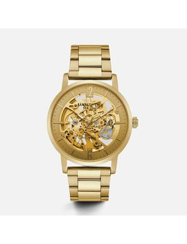 Automatic Gold Tone Stainless Steel Watch by Kenneth Cole New York