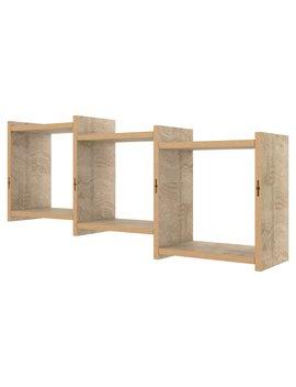 Danya B 3 Cube Floating Decorative Wall Shelf With Ledges by Danya B