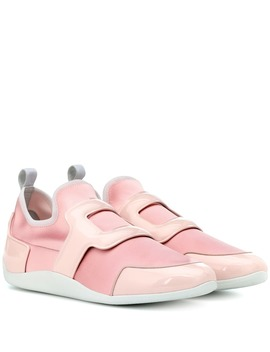 Exclusive To Mytheresa – Sporty Viv Leather Trimmed Sneakers by Roger Vivier
