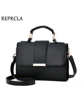 Reprcla 2018 Summer Fashion Women Bag Leather Handbags Pu Shoulder Bag Small Flap Crossbody Bags For Women Messenger Bags by Reprcla