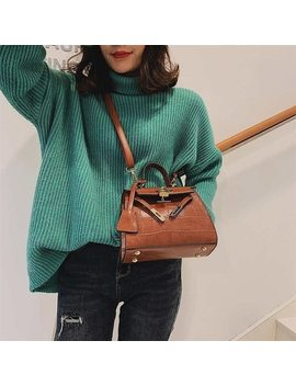 Famous Brand Bags For Women 2019 Designer Handbags High Quality Alligator Pu Leather Crossbody Bags For Ladies New Shoulder Bags by Voulon
