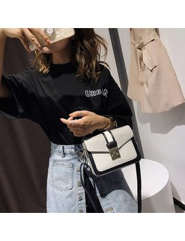 2018 New Women Bag Stylish Handbag With Matching Colors Women Messenger Bags Women's Pouch Evening Party Package Handbags by Suqi