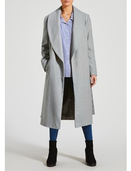 Belted Wrap Coat by Matalan
