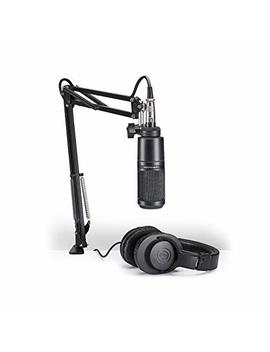 Audio Technica At2020 Pk Vocal Microphone Pack For Streaming/Podcasting by Audio Technica