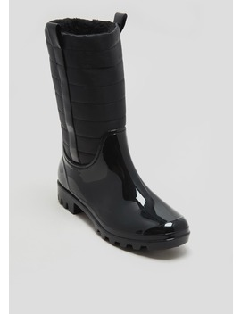 Quilted Wellies by Matalan