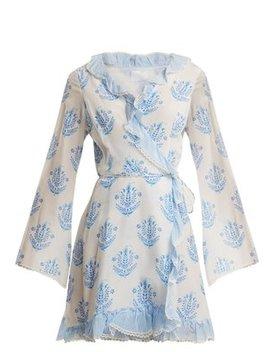 Vagabond Long Sleeve Wrap Dress by Athena Procopiou