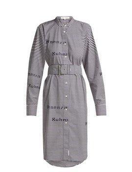 Striped Cotton Shirtdress by Proenza Schouler Pswl