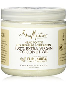 Shea Moisture 15 Oz 100 Percents Extra Virgin Coconut Oil by Shea Moisture