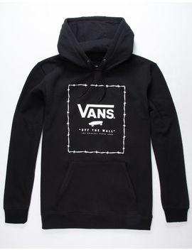 Vans Print Box Black Mens Hoodie by Vans
