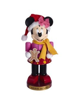 Kurt Adler 10 Inch Minnie Mouse Nutcracker by Disney