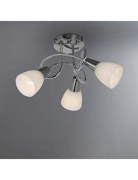 Smithson 3 Light Chrome Ceiling Fitting by Dunelm