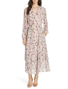 Frances Floral Silk Maxi Dress by Dolan