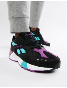 Reebok Classic Aztrek Sneakers In Black Dv3943 by Reebok