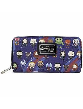 Loungefly X Avengers Chibi Aop Wallet by Loungefly