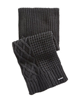 Men's Textured Scarf by Steve Madden
