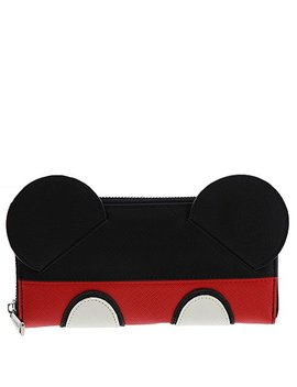 Loungefly X Mickey Suit Zip Around Wallet by Loungefly