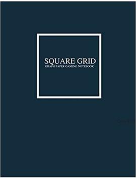 "Square Grid Graph Paper Notebook: Tear Out And Piece Together To Make Any Size Or Length Battle Grid Game Map Battle Mat With Exact 1"" Square Grids ... Role Playing Game Map Making Planning Battles by Amazon"
