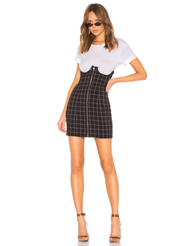 Lillian High Waisted Mini Skirt by H:Ours