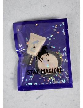 Unicorn Highlighter Sequin Pack (16cm X 12cm) by Matalan