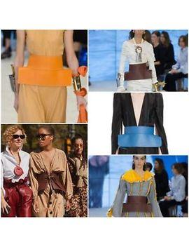 Loewe Waist Belt In Off White Gucci Lambskin Shown On Moda Operandi Net A Porter by Ebay Seller