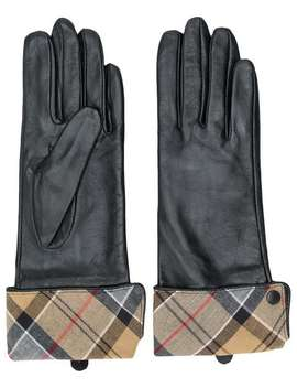 Checked Lining Gloves by Barbour