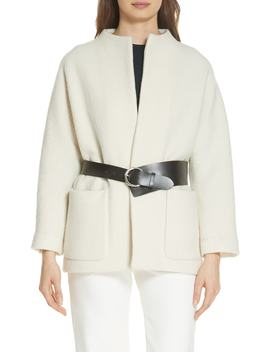 Clif Belted Wool Coat by Ba&Sh