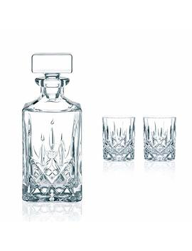 Nachtmann Noblesse Decanter And Whisky Glass, Set Of 3 by Amazon