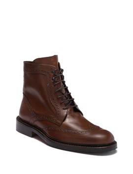 Toscano Leather Boot by Bugatchi