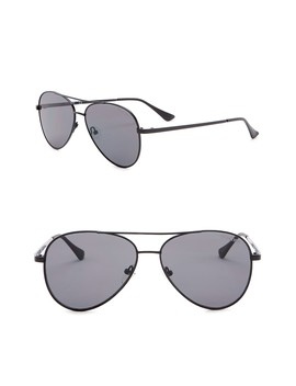 57mm Aviator Sunglasses by Kenneth Cole Reaction