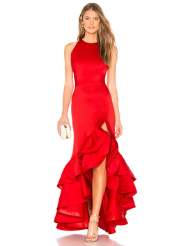 Frida Flame Gown by Bronx And Banco