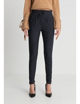 Onlpoptrash Pinstripe Frill Pant    Bukser by Only Tall