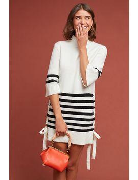 Lace Up Sweater Dress by Coa