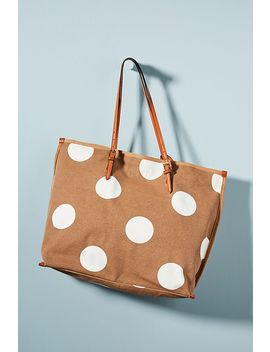 Shauna Canvas Tote by Anthropologie