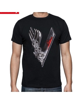 Vikings Valhalla Odin T Shirts Men Custom Designer Short Sleeve Cotton Male Summer Cheap Price Viking Tee Tops O Neck T Shirt by Bonjean